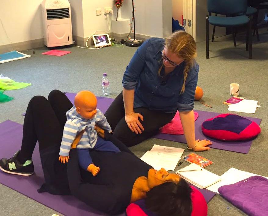 Baby Yoga Training at Leeds Mother & Baby Unit