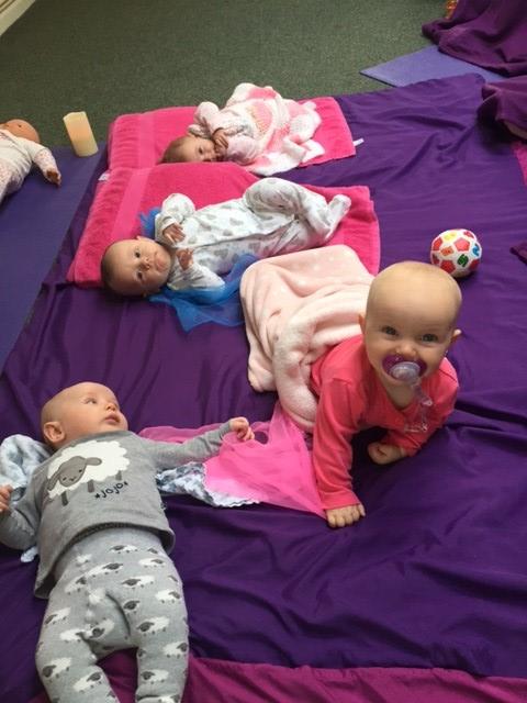 MamaBabyBliss Kent Baby Massage and Baby Yoga