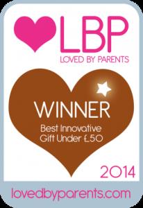 Loved By Parents: Best Innovative Gift Under £50: Bronze Winner