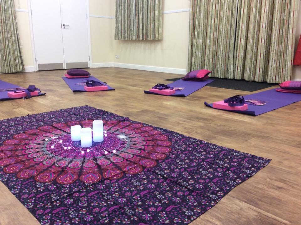 Swindon Pregnancy Yoga classes with Krissy Manton