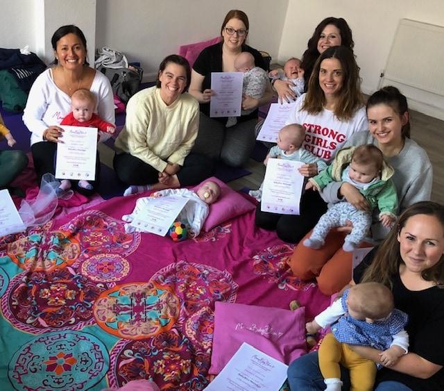 Baby Massage Classes in Hitchin, Hertfordshire