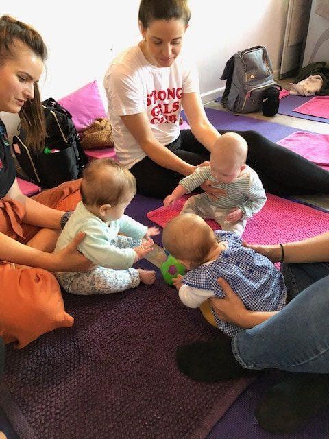 Baby Massage Classes, Hitchin in Hertfordshire