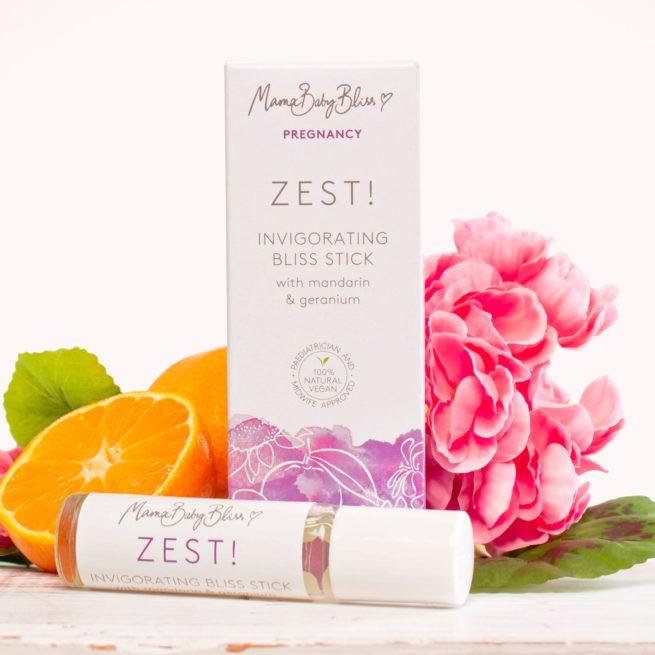Zest Pulse Point Oil for Pregnancy & Morning Sickness